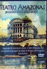 Teatro Amazonas Documentário de Aurélio MIchiles - DVD Narração de Paulo Autran