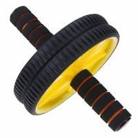 Ab Roller Double Wheels Abdominal Rope Waist Slimming Equipment Pull Exercise
