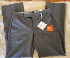 Women's Dockers Trousers Leg Pants Size 10 NWT Truly Slimming Gray