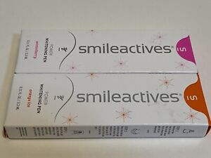 Smileactives Power Whitening Pen Winterberry Orange Ice LOT OF TWO - New In Box