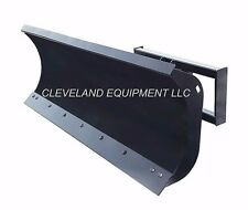 "New 84"" Hd Snow Plow Attachment Tractor Loader Hydraulic Angle Blade Mahindra 7'"