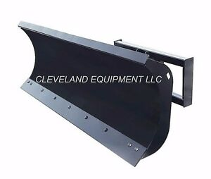 """108"""" HD SNOW PLOW ATTACHMENT Skid-Steer Loader Angle Blade Mustang New Holland"""