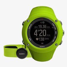 Uhr Running Rennen Outdoor SUUNTO AMBIT3 Run HR grün GPS und Pulsmesser