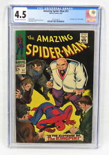 Marvel Comic Amazing Spider-Man #51 CGC 4.5 Stan Lee 2nd Appearance Kingpin 1967