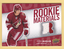 "2007-08 Upper Deck ROOKIE MATERIALS -  PETER MUELLER ""2 COLOUR""  #RM-PM"