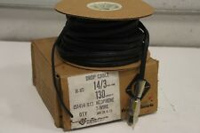 FRANKLIN ELECTRIC 151414-908 DROP CABLE 130'' 14/3AWG * NEW IN BOX *
