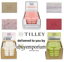 TILLEY VEGETABLE SOAP 100GM BARS - MIN BUY IS 10 BARS - NO LIMIT  30+ FRAGRANCES