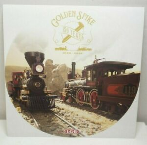 LGB G Scale Golden Spike Transcontinental 150Years 1869-2019 Promotional Sticker