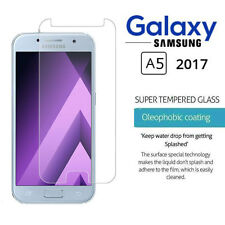 2 x Tempered Glass Screen Protector Premium Protection Samsung Galaxy A5 (2017)