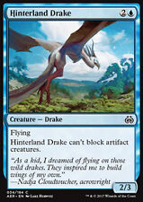 MTG 4x HINTERLAND DRAKE - DRAGHETTO DELL'ENTROTERRA - AER - MAGIC
