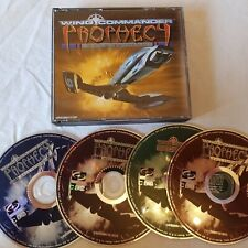 WING COMMANDER - PROPHECY - GOLD EDITION Pc Cd Rom CD Cased Windows