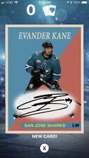 Topps Skate Digital 1958-59 Evander Kane Signature