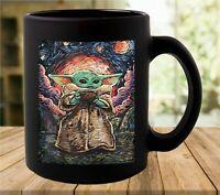 Baby Yoda The Child Starry Night 2021 Coffee Mug