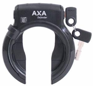 Ringschloß AXA Defender - Hochglanzschwarz (Werkstattverpackung)