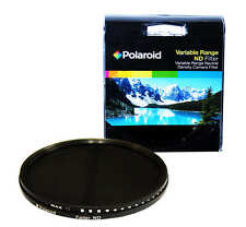 Polaroid Optics 62mm Variable Range Neutral Density ND Fader Lens Filter