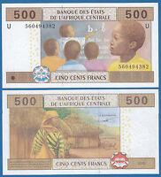 Central African States 500 P 206U Cameroun 2002 UNC New Signature CAS P-206 U