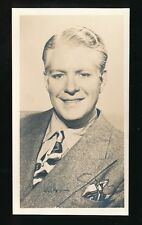 Film Theatre NELSON EDDY personally Signed Plain back photo Card
