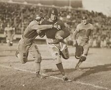 """1920 Football Game, antique, college Sports, 8""""x10"""" Photo, leather helmet"""