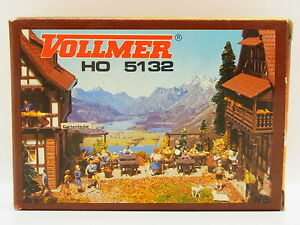 Lot 17908 Vollmer Ho 5132 Gazebo Garden Furnitures Kit New Original Packaging