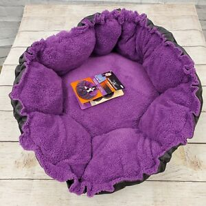 Petmate Jackson Galaxy Comfy Clamshell Multi-Purpose Cat Bed Lounger New NWT