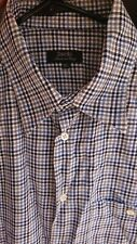 $195 Zanella Mens Button Down Shirt Size XL, beautiful quality made in Italy