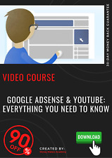 Google AdSense & YouTube: Everything You Need to Know video training tutorial