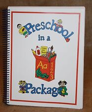 Preschool Curriculum - Preschool in a Package: Education, Teaching *REDUCED