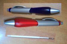 50 x Kugelschreiber Druckkugelschreiber Kuli in Rot oder Blau Minen Farbe Blau