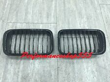 Front Kidney Hood Grilles Carbon Look For BMW E36 3 Series '1992-'1996