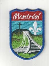 Montreal Quebec Canada Souvenir Patch