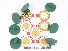 LEGO Elven Shields for minifigures x7 Hobbit Lord of the Rings Elf Friends +