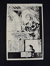 Witchblade Darkchylde 1 Image Randy Queen Splash Page Original Art Sketch