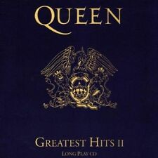 """QUEEN - GREATEST HITS II CD (BEST OF II) INCL.""""THE SHOW MUST GO ON"""""""