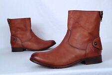 Frye 'Melissa' Button Short Boot- Cognac- Size 8 B (BB2)