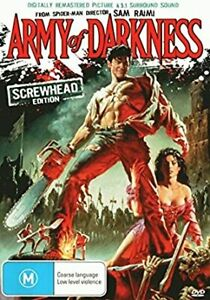 Army of Darkness DVD - DIGITALLY REMASTERED Picture + 5.1 Surround Sound