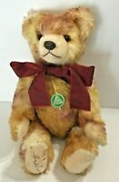 "Hermann Teddy Bear Growler Sound 593 Artline Mohair Germany 13"" Stuffed Animal"