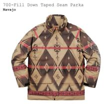 Supreme 700 Fill Down Taped Seam Parka Navajo XL With Supreme Hat! READY TO SHIP