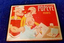Antique POPEYE PAINTS tin ~ popeye tin paint set