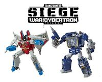 Transformers Generations War for Cybertron Voyager Starscream and Soundwave