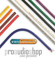 Van damme Microphone Cable XKE Tour Grade Classic CHOOSE YOUR COLOUR (per metre)