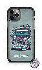 Vintage Cassette Tape Disk Jockey Design Phone Case For iPhone Samsung LG Google