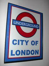 London Underground Subway EMO Train Framed Advertising Print Man Cave Sign