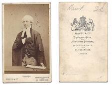 CDV Sir Henry Hawkins English High Court Judge Carte de Visite Photo by Maull