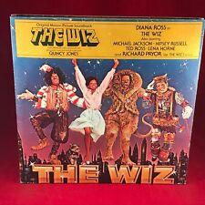 MICHAEL JACKSON VARIOUS The Wiz 1978 UK Double Vinyl LP + INSERTS SOUNDTRACK