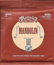 Martin M465 Mandolin Strings Medium .011 -.040 Monel Wound