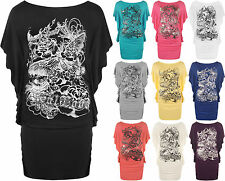 Scoop Neck Regular Size Batwing Tops & Shirts for Women