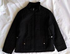Men's Esprit Quilted Coat Jacket Size XL Black