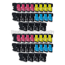 40+ PK New LC61 Ink Cartridge for Brother Printer DCP-585CW MFC-J630W LC61 LC-61