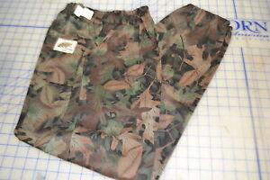 small regular field pants trousers tru-leaf hunting camo USA made wooded