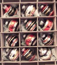 Nib 12 Shiny Brite Multi Halloween Christopher Radko Mercury Glass Ornaments